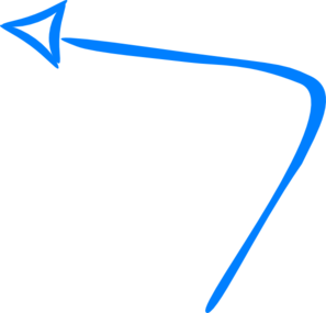 Blue Arrow Clip Art
