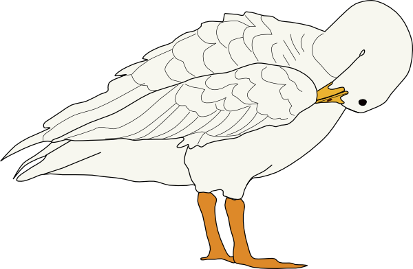 goose hunting clipart - photo #30