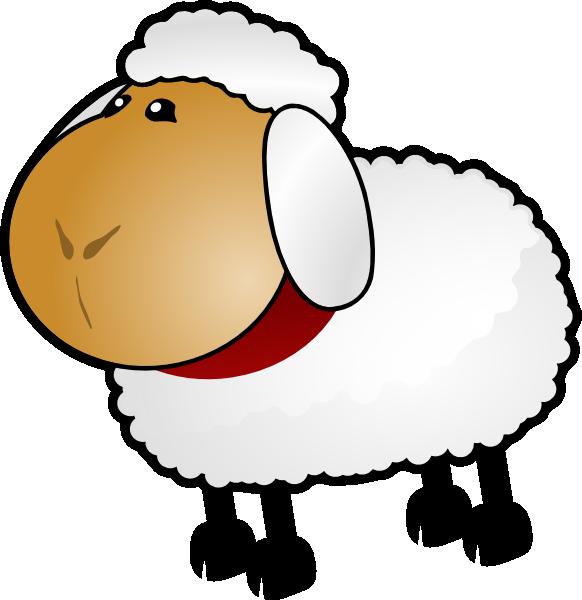 Sheep, Rotate 5 Clip Art At Clker.com