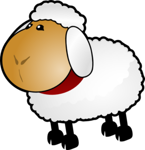 Sheep, Rotate 5 Clip Art at Clker.com - vector clip art online ...