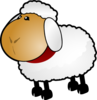 Sheep, Rotate 5 Clip Art