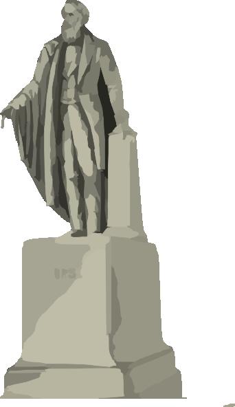 morse statue clip art at clkercom vector clip art