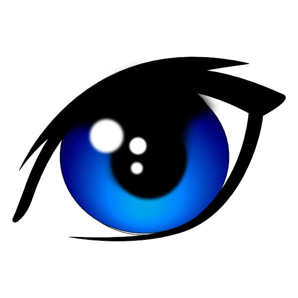 blue vector eye clip art at clker com vector clip art free clip art bullseye eye clip art free images
