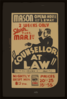 Counsellor At Law  Gripping Drama By...elmer Rice. Clip Art