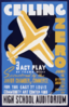 Ceiling Zero 3 Act Play By Frank Wead : Sponsored By The Junior Chamber Of Commerce For The East St. Louis Community Art Center Fund / D.s. Clip Art