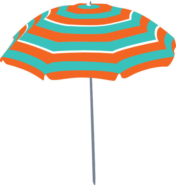 beach umbrella clip art at clker com vector clip art online rh clker com beach umbrella clipart black and white beach chair umbrella clipart