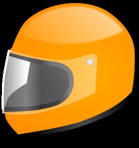 yellow racing helmet clip art at clkercom vector clip