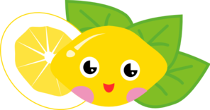 Lemon Cartoon Character Clip Art
