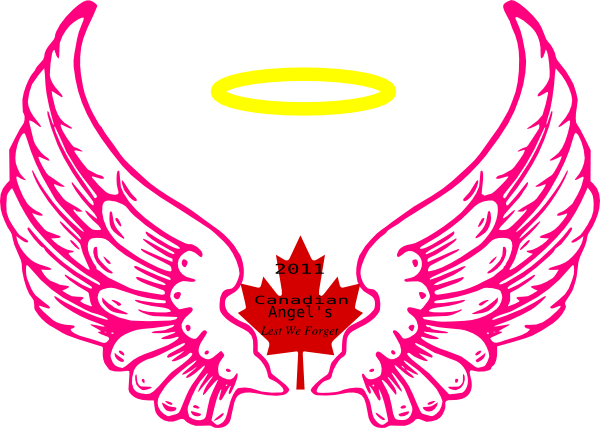 Canadian Wing Angel Halo Clip Art Vector Online Royalty
