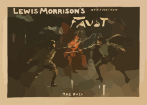 Lewis Morrison S Magnificent New Faust Clip Art