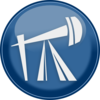 Oil Drilling Icon Clip Art