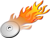 Dvd Cd Burn Icon Clip Art