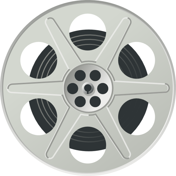 Movie Reel Clip Art at Clker.com - vector clip art online, royalty ...