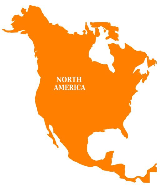 north america clip art at clker com vector clip art online rh clker com north america clip art map north america images clip art