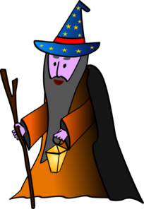 Old Wizard Clip Art