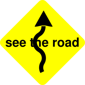 See The Road Clip Art