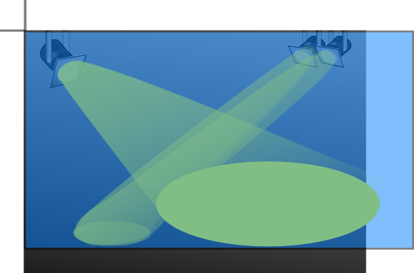 Spotlight Searchlight Clip Art At Clker Com Vector Clip