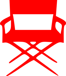 Director S Chair Red Clip Art
