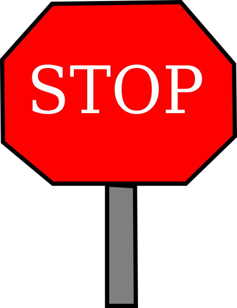 stop sign clip art at clker com vector clip art online free clip art stop sign black and white free clipart stop sign