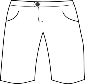 White Shorts Clip Art at Clker.com - vector clip art ...