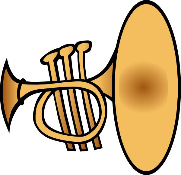 Silly Trumpet Clip Art at Clker.com - vector clip art online, royalty ...