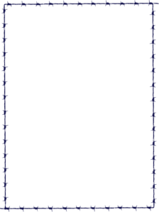 Clipart Navy Border on wire art