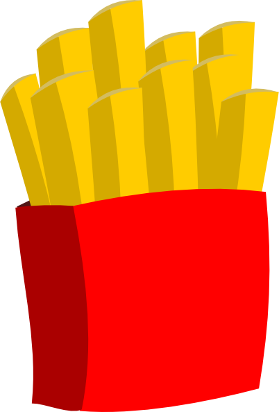 Animated french fries - photo#2