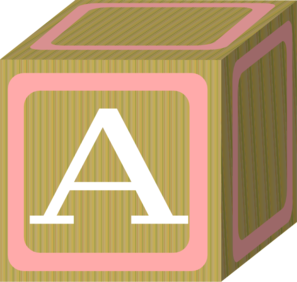 Baby Blocks Abc 2 A Clip Art