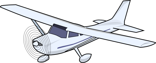 small airplane clipart free - photo #5