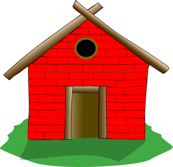 brick house clip art at clker com vector clip art online royalty rh clker com brick house clipart black and white Hay House