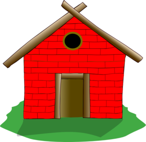 Brick House Clip Art at Clker.com - vector clip art online, royalty ...
