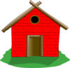 Brick House Clip Art