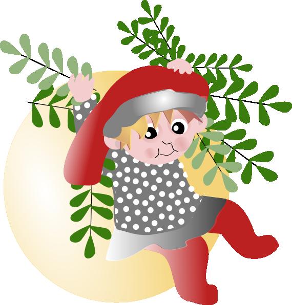 Christmas Elf Clip Art at Clker.com - vector clip art online, royalty ...