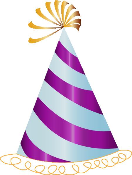 purple party hat clip art at clker com vector clip art online rh clker com party hat clipart vector party hat clipart png