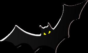 Bat W Eyes Clip Art at Clker.com - vector clip art online ...