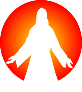 jesus christ with sun clip art at clker com vector clip art online rh clker com christ clipart black and white christ clipart black and white