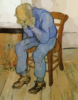 Vincent Van Gogh Old Man In Sorrow On The Threshold Of Eternity Clip Art