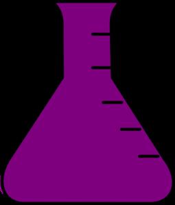 Purple Flask Clip Art at Clker.com - vector clip art online ...
