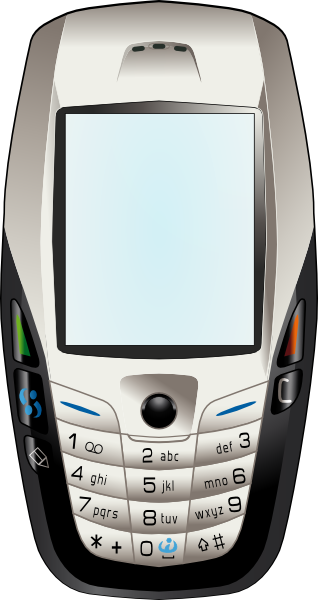 nokia phone clipart - photo #1