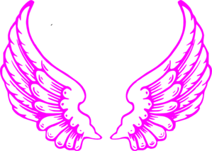 Pink Guardian Angel Wings Clip Art