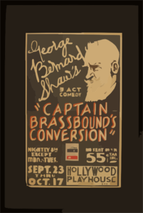 George Bernard Shaw S 3 Act Comedy  Captain Brassbound S Conversion  Clip Art