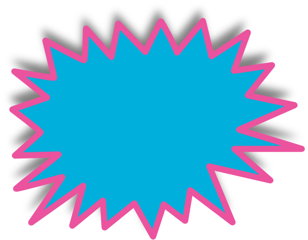 yellow starburst clipart - photo #48