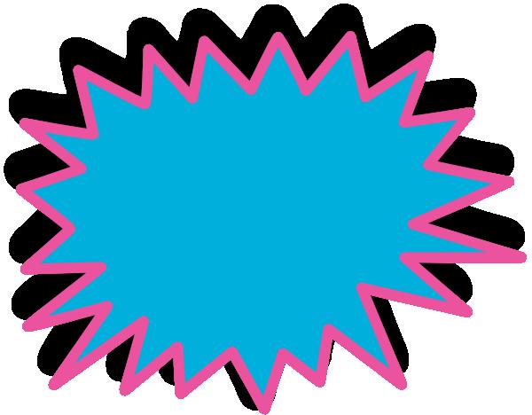 Starburst Clip Art at Clker.com - vector clip art online, royalty free ...