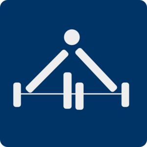Weight Lifting Pictogram Clip Art