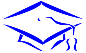 Mortarboard Outline-mhs Clip Art