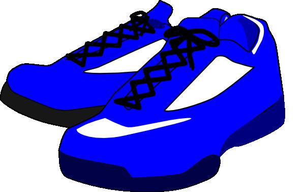 Blue Shoes Clip Art at Clker.com - vector clip art online ...