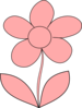 Laura Pink Flower Clip Art