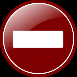 Subtract Vector Clipart