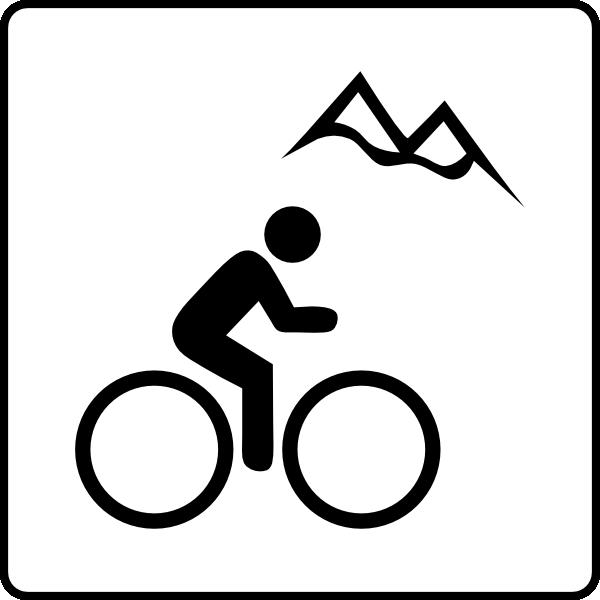clipart mountain bike rider - photo #48