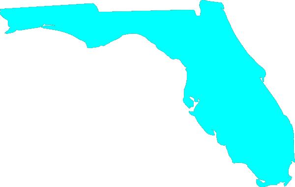 Clip Art Of State Fl : Florida outline clip art at clker vector